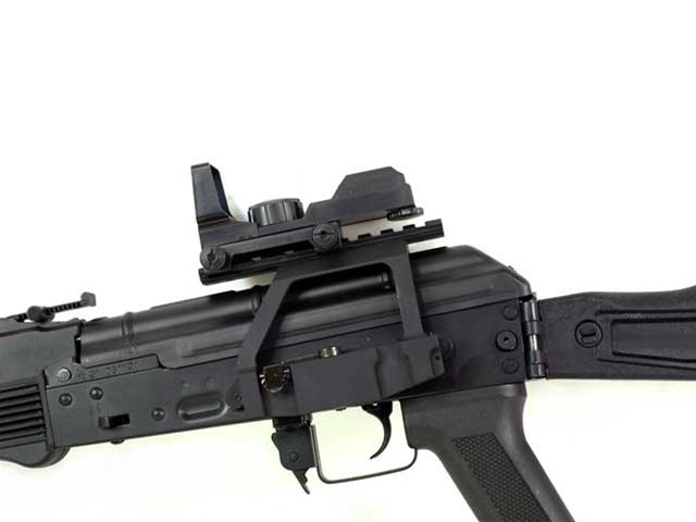 Ak 74m Tactical W Red Dot Sight Package Full Metal