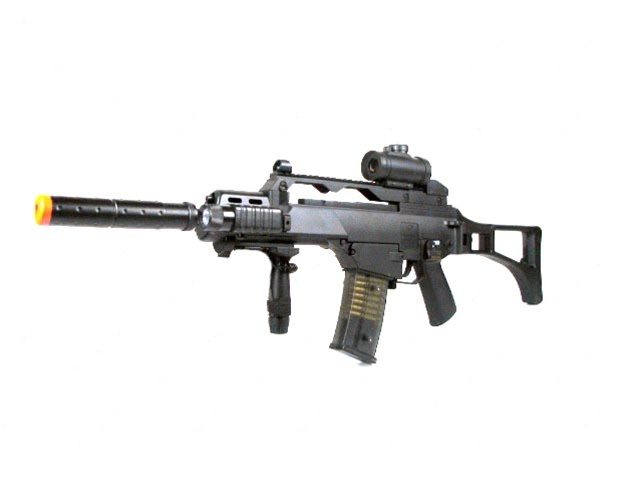 Eagle M85 X36 Fully-Automatic Lower-Powered Airsoft Electric Gun ...