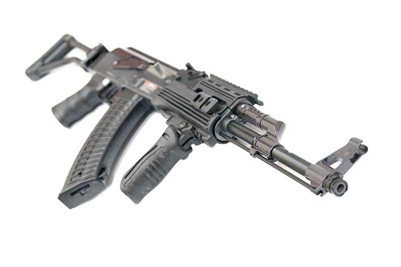 JG AK47 Tactical RIS Side Folding Stock Black Airsoft Electric Gun