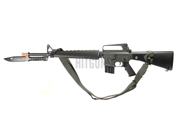 M16 With Bayonet