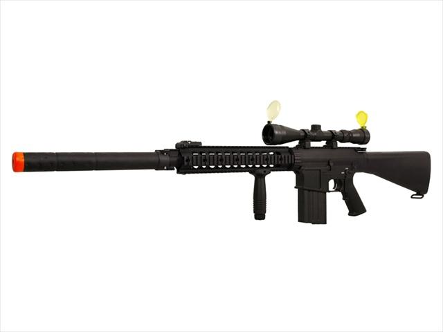A K S 25 Sniper Rifle Full Metal Airsoft Gun Scope Package