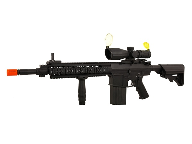 A K S 25k Urx Special Forces Full Metal Airsoft Gun Scope Package